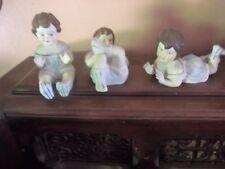 Antique Bisque/Porcelain Piano  Dolls German?