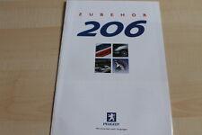118172) Peugeot 206 - Zubehör - Prospekt 01/2000