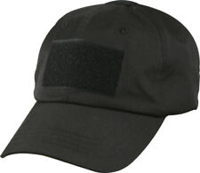 Rothco Black Operator Tactical Patch Baseball Cap Hat