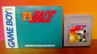 F-1 Race w/ Manual Booklet  Nintendo Game Boy Color GB TESTED GBA Advance GBC
