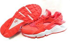 Womens Nike Air Huarache Run 634835 608 Crimson 2017 Deadstock Sneakers Shoes