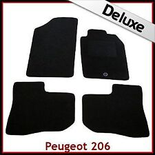 PEUGEOT 206 CC 1998 - 2007 2008 2009 2010 1-Clip LUSSO SU MISURA tappetini per AUTO 1300g