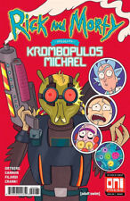 RICK AND MORTY PRESENTS: Krombopulous Michael #1 New Mutants 87 Homage Variant