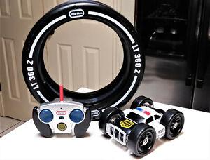 LITTLE TIKES LT 360 Z Tire Twister RC Police Car Tire/Wheel