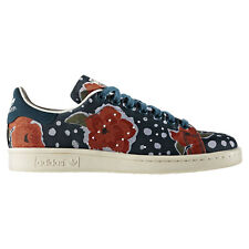 adidas ORIGINALS FLORAL STAN SMITH TRAINERS WOMEN'S ROSES SHOES SNEAKERS PRINT