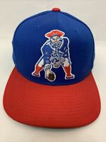 New England Patriots Mitchell and Ness Snapback NFL Hat Cap Throwback
