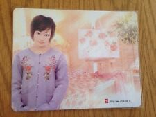 Green Item! Paper Made Mouse Pad -poster Sweet Asian Girl Made In Taiwan