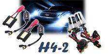 KIT HID LUCI LAMPADE LAMPADINE H4-2 XENO 6000K FARI XENON CENTRALINE PER AUTO
