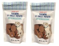 Trader Joe's Salmon and Sweet Potato Dog Treats, 4 oz (113g), 2-Pack