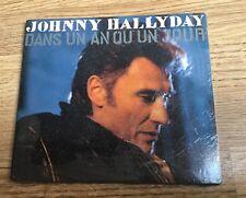 Johnny HALLYDAY Dans un an ou un jour CD 3 titres 1ère édition 1992 NEUF SCELLÉ