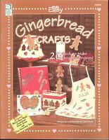 Easy Christmas Gingerbread Crafts 1999 Mother Daughter Apron Brown Bag Ornaments