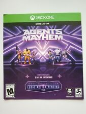 Agents of Mayhem Legal Action Pending Content (Xbox One)