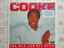 """SAM COOKE       """"THE MAN AND HIS MUSIC""""       DOUBLE VINYL LP RECORDS"""