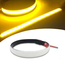 Universal LED Strip Bike Motorcycle Car Fork Turn Signal Indicator Light Strips