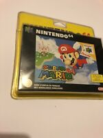 😍 super mario 64 n64 nintendo neuf sous blister rigide 1997 rare jeu scelle