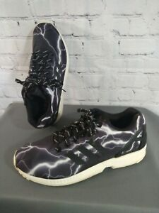 GUC men's ADIDAS ZX FLUX / LIGHTENTING athletic shoes - size 10 1/2