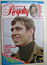 Royalty Monthly Magazine Vol 2 No 5 1982 Princess Anne Queen Australia Andrew