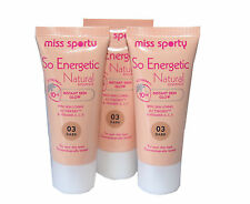 3 X Miss Sporty so Energetic Natural Radiance Foundation | Dark