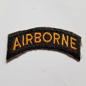 U.S. ARMY WW2 AIRBORNE TAB CUT EDGE AUFNÄHER PATCH COLOR
