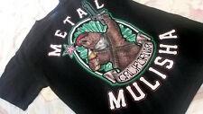 METAL MULISHA Men T Shirt  S CALIFORNIA REPUBLIC- Black  Short Sleeve NWT #2