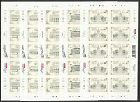 SINGAPORE 2019 HERITAGE HOTELS 5 x FULL SELF ADHESIVE SHEET 10 STAMPS EACH MINT