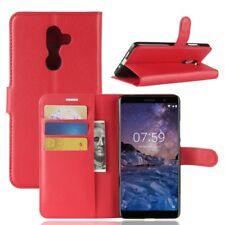 Nokia 7 plus Portable Housse Sac Case étui de rouge 2011r