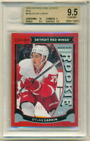 2015-16 OPC MARQUEE ROOKIE RED U20 DYLAN LARKIN RC RARE BGS 9.5 GEM MINT (1/1)