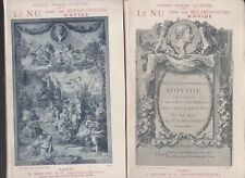 LE NU DANS LES METAMORPHOSES D'OVIDE - ARMAND SILVESTRE - 2 VOLUMES 1894