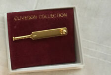 Gold Cricket & Ball Pin