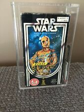 TAKARA 1979 Star Wars Die-Cast C-3PO AFA 80 Factory Sealed WOW LOOK -Rare!