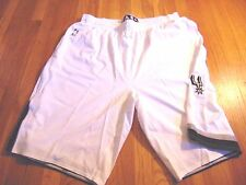ADIDAS NBA AUTHENTIC SAN ANTONIO SPURS LIGHT WEIGHT GAME SHORTS SIZE 5XL+4""