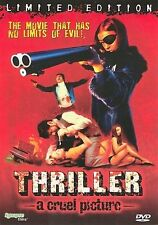 THRILLER: A CRUEL PICTURE DVD VOLUPTUOUS CHRISTINA LINDBERG NEKKID GLOBAL SHIP