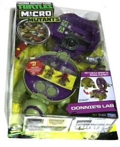 TMNT Micro Mutants Donnie's Lab Playset Teenage Mutant Ninja Turtles 2016