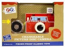 Fisher Price Classic Changeable Picture Disc Camera #1707 Retro Package, New!