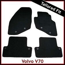 Volvo V70 Mk2 2000-2007 Fully Tailored Fitted Carpet Car Floor Mats BLACK