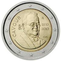 2 euro Italia 2010 Cavour