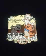 Disney Aristocats Kittens 1970 Willabee & Ward Marie, Toulouse, and Berlioz Pin