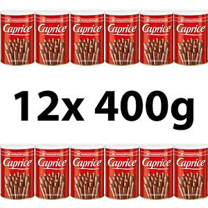 12x 400g Papadopoulos Caprice Gaufrettes à la Crème de Cacao au Chocolat Grec