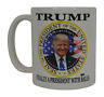 Donald Trump Coffee Mug Finally A President With Balls Funny Novelty Cup Gift