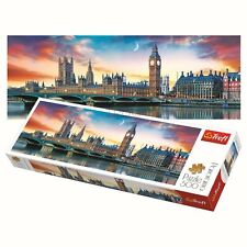 Trefl 500 Piece Panorama Adult Large Big Ben Westminster London Jigsaw Puzzle