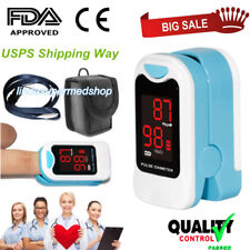 CONTEC Fingertip Pulse Oximeter Blood Oxygen Spo2 Monitor Portable Us LED Sensor