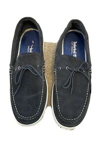 Timberland Earthkeepers Casco Bay 1 Eye Navy Men's Boat Shoes SIZE 15