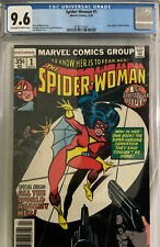 Spider-woman #1 CGC 9.6, OWW Pages, 1978 1st series