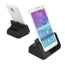 Dual Sync Phone & Battery Dock Station Charger for Samsung Galaxy Note 4 SM-N910