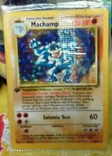 Base Set Pokémon Individual Cards with First Edition