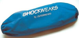 Outerwears - 30-1105-02 - Shockwears Shock Cover, Rear/Blue`