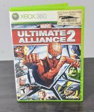Marvel: Ultimate Alliance 2 (Microsoft Xbox 360, 2009) Missing Manual