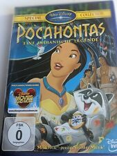 Pocahontas - Eine indianische Legende   - DVD - Walt Disney  NEU OVP