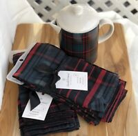 Magnolia 8 Napkins Hearth And Hand Plaid Coffee Pot Set SOLD OUT Breakfast Set