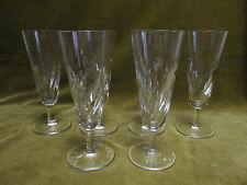 6 flutes à champagne cristal de saint Louis (crystal champagne flutes) Bidassoa